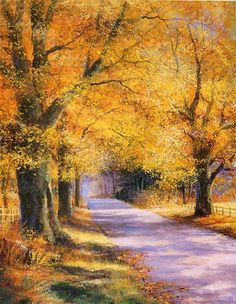 Vamos a hacer una pintura: Mejorar sus árboles con Terry Harrison