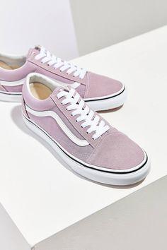 Slide View: 2: Vans Lilac Old Skool Sneaker