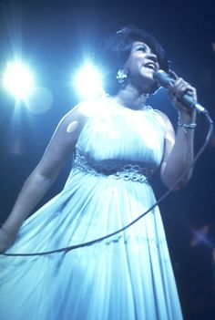 Aretha Franklin by Walter Iooss