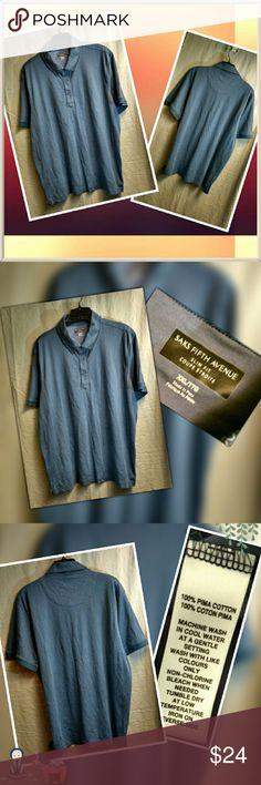 Saks fifth avenue mens shirt Excellent condition no rips no tears  Item 414 Saks Fifth Avenue Shirts