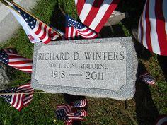 Major Richard D. Winters' headstone