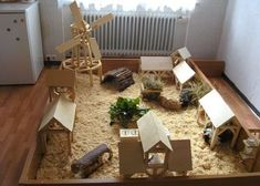 Cute cavy village. I really want to build this for my guinea pigs