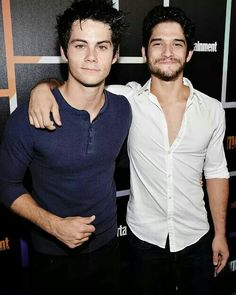 Dylan O'Brien & Tyler Posey #TeenWolf #ComicCon