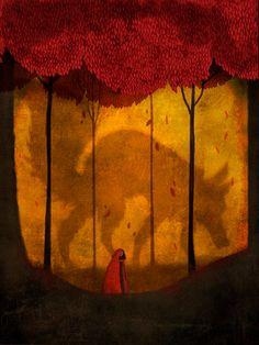 Little Red Riding Hood by lydiamba on DeviantArt
