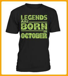 legends are born in October - Geburtstag shirts (*Partner-Link)