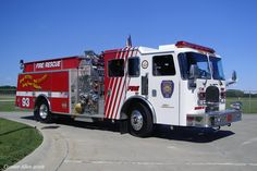 Town of Fishers (IN) Fire Dept. Fire/Rescue Engine 93