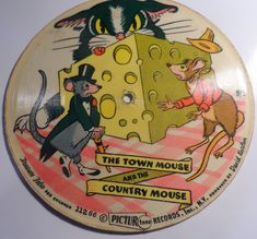 Buy Unknown Artist - Sweet Soup / The Town Mouse And The Country Mouse - PicturTone Records, PicturTone Records - Card, Pic - includes Sweet Soup, The Town Mouse And The Country Mouse Lp Cover, Label, Africa, Country, Artist, Cards, Pictures, Photos