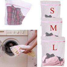 3 tamanho lavagem saco de roupa interior roupas Aid Bra Socks máquina de lavar roupa rede de malha(China (Mainland))