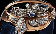 Astronomia Tourbillon Baguette Another Million Dollar Masterpiece From Jacob & Co.