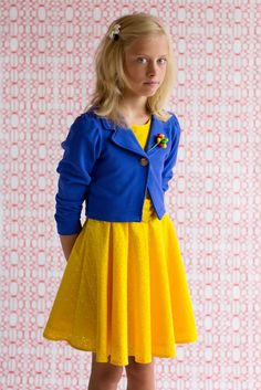 yellow and blue ;=