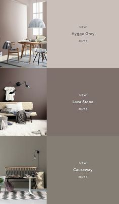 Color Trends 2018 12 New ColorsCIN Color Tre… – Hannah Gatzweiler – Fotografie – Trend Paint Colors For Living Room, Paint Colors For Home, House Colors, Taupe Paint Colors, Bedroom Paint Colors, Gray Bedroom, Wall Colors, Interior Paint Colors, Home Interior Design
