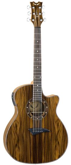 Dean Cocobolo Acoustic Electric Guitar - apparently a good guitar for beginners