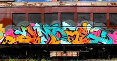 DMOTE _______________________ #madstylers #graffiti #graff #style #colorful #graffporn #stylewriting #summer #sprayart #graffitiart Graffiti Writing, Graffiti Tagging, Graffiti Artwork, New York Subway, Nyc Subway, S Bahn, Train Car, Cool Photos, Wave