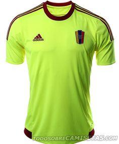 premium selection 4ca62 d2cff MÁS FOTOS  Camisetas Adidas de Venezuela para la Copa América 2015   Todo  Sobre Camisetas