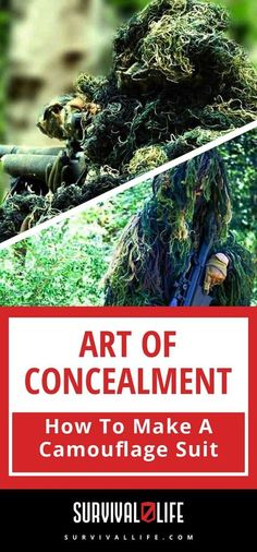 Camouflage | Art of Concealment | How To Make A Camouflage Suit