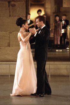 Jennifer Lopez Pink Evening Dress In the movie 'Maid In Manhattan'