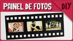 Painel de Fotos Rolo de Filme =DiY