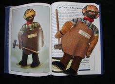 DEANS-RAG-BOOK-VILLAGE-BLACKSMITH-c1939-VERY-RARE-DOLL-VINTAGE-TEDDY-BEAR