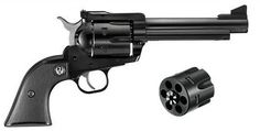 RUGER New Model Blackhawk 357/9mm Convertible.