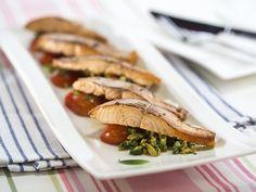 Бон Апети Риба с маслинова салца