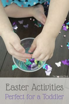 Easter Activities Perfect for a Toddler - The Sprouting Minds