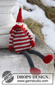 "Gestrickter DROPS Weihnachtswichtel aus ""Baby Merino"". ~ DROPS Design  :        I will start this project immediatly <3"