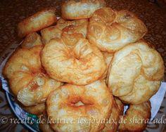 Snack Recipes, Cooking Recipes, Snacks, Moroccan Bread, Algerian Recipes, Algerian Food, Biscuit Bread, Egyptian Food, Jewish Recipes