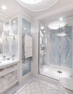 Bathroom decor for the bathroom remodel. Discover master bathroom organization, bathroom decor suggestions, master bathroom tile suggestions, master bathroom paint colors, and more. Dream Bathrooms, Beautiful Bathrooms, Master Bathrooms, Marble Bathrooms, Luxury Bathrooms, Master Baths, Master Master, Farmhouse Bathrooms, Small Bathrooms