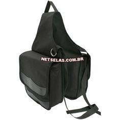 Alforge Térmico NS7536 - NetSelas  Comprimento ponta a ponta: 110cm    Medidas dos bolsos: Alt: 30cm                                 Larg: 28cm    Largura do fole: 8cm