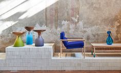 Australian designers exhibition by Local Design at Milan design week Big Design, Design Blog, The Design Files, Store Design, Cool Furniture, Furniture Design, Milan Design Week 2017, Bunting Design, Wallpaper Magazine