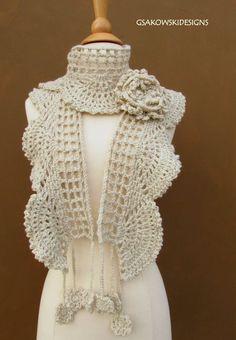 Crochet scarf: