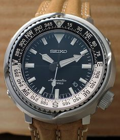 I finally picked up the new Seiko Fieldmaster SBDC011, a field watch in the tuna can body. This is my fourth automatic tuna can after the 6159-7010, SBDX005 and SBDX011.