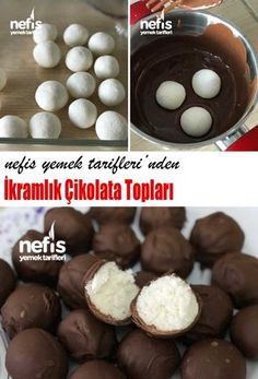 Chocolate Balls – Yummy Recipes – # 3981795 - My PT Sites Chocolate Cake Recipe Easy, Chocolate Cookie Recipes, Oreo Desserts, Pudding Desserts, Easy Desserts, Chocolate Chip Cookies, Delicious Desserts, Yummy Food, Cake Chocolate