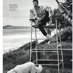 Chris Hemsworth for GQ Australia May/June 2020 by Matthew Brookes - Fashionably Male Chris Hemsworth Thor, Gq Australia, Best Avenger, Hemsworth Brothers, Favorite Son, Blockbuster Film, New Tv Series, Tom Welling, Cody Christian