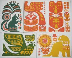 print & pattern: CARDS - sanna annukka postcards
