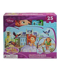 Disney Cars 25 piece Floor Foam Puzzle