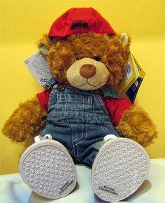 Rochester Knighthawks charity teddy bear auction to benefit CURE childhood cancer center. Made by Matt Vinc.    http://gobuyrochester.com/Default.aspx?TabID=855