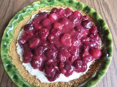 Ever Ready 4th of July Cherry Dessert recipe posted June 28, 2015