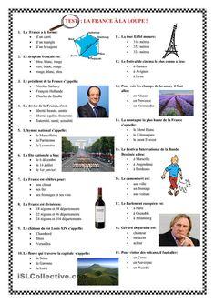 La France à la loupe - test
