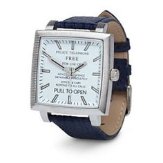 Doctor Who Tardis Adult Analog Watch White Blue *** Check out the image by visiting the link. Doctor Who Tardis, Dr Who, Bracelets Bleus, Tardis Blue, Stylish Watches, Telling Time, Geek Chic, Looks Cool, Nerdy
