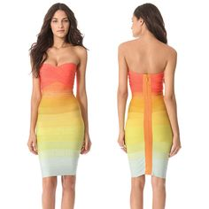 Ladies Sexy Backless Bandage Bodycon Dress Evening Cocktail Party