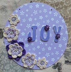 Joy plaque