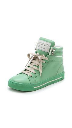 Marc by Marc Jacobs Cute Kicks High Top Sneakers