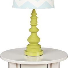 lolli living lamp base - green spindle