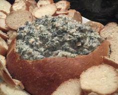 Spinach and Cream Cheese Spread recipe snapshot