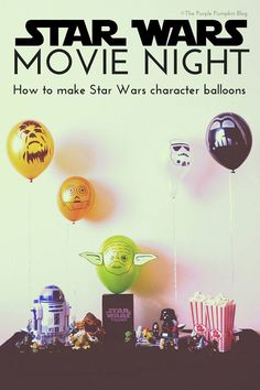 Star Wars Movie Night with Balloon Time