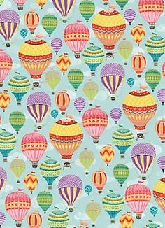 Hot Air Balloons Wrapping Paper, Paper Source