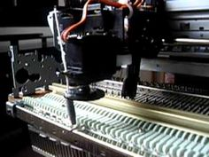 Picaxe Electronic Knitting Machine