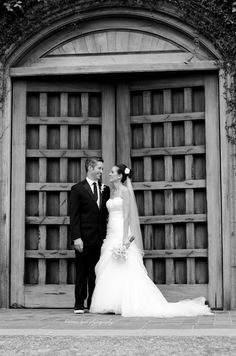 Entry door into Blackstone Country Club, Peoria, AZ Photography: Brianna Lynn Photography & Design