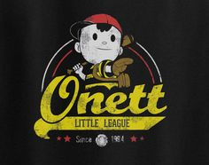Earthbound Ness Onett Little League Baseball since 1994